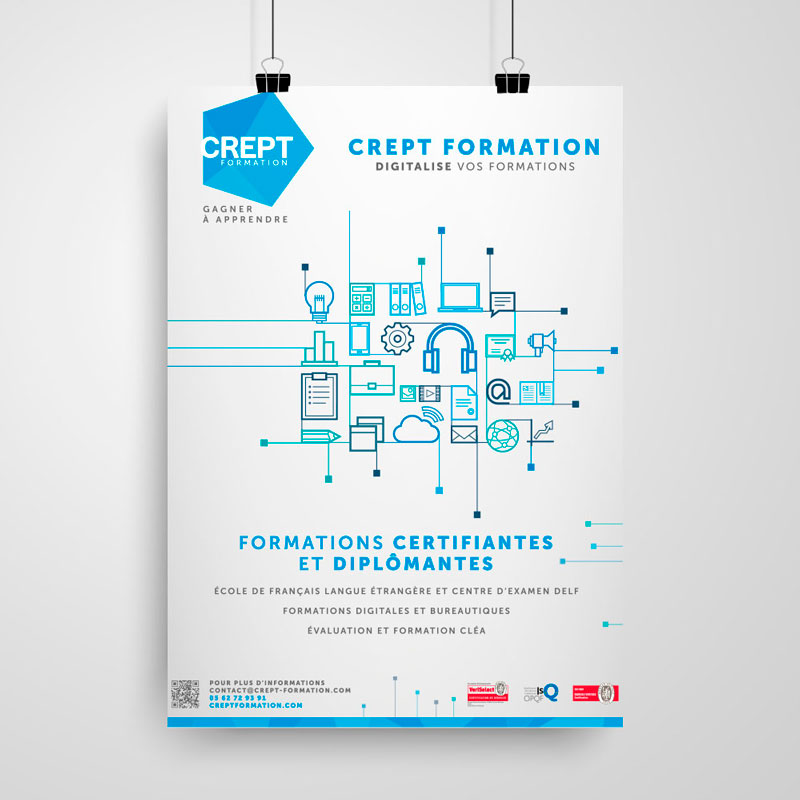 affiche crept formation
