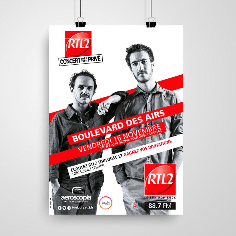 affiche boulevard des airs rtl2